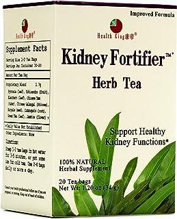 Health King Kidney Fortifier Herb Tea, Herbal Tea, Teabags 20, Kidney Strong, Urine System, Detox