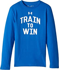 Under Armour Kids - Train to Win Long Sleeve Tee (Big Kids)
