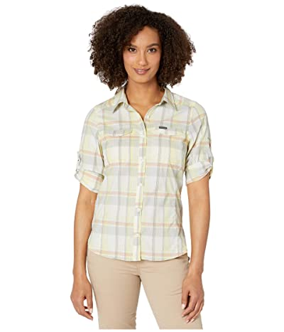 Columbia Silver Ridge Lite Plaid Long Sleeve Shirt (Buttercup Medium Multi Plaid) Women