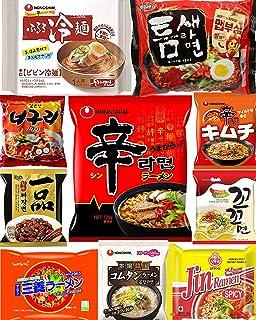 韓国 ラーメン 人気の10種セット 辛ラーメン インスタントラーメン 袋麺 韓国食品 のぐりラーメン