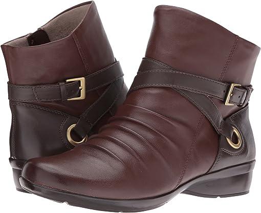 Bridal Brown/Oxford Brown Leather