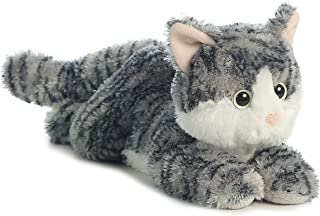 gray cat plush toy