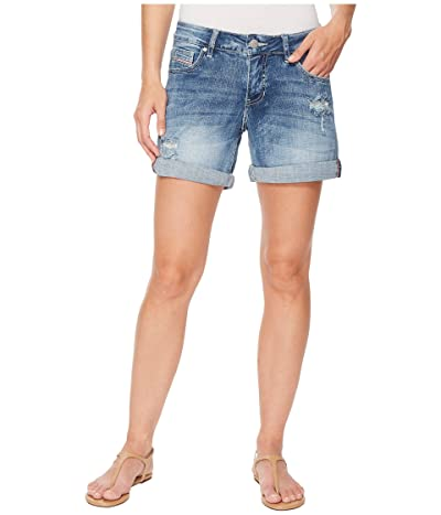 Jag Jeans Alex Boyfriend Denim Shorts (Mid Vintage) Women