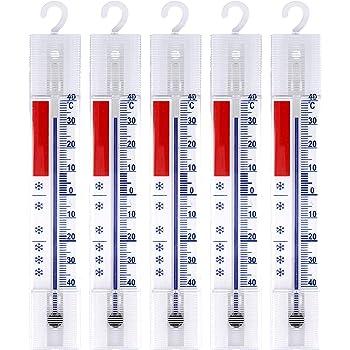 Analogique Temp/érature anzige +//- 40 /°C Lantelme 4884 Lot de 4 R/éfrig/érateur Cong/élateur glace armoire thermom/ètre de refroidissement