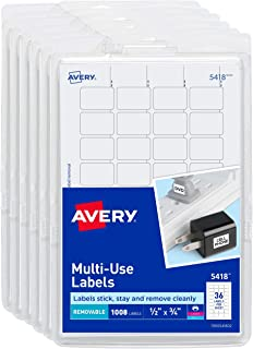 Best avery labels 1/2 x 3/4 Reviews