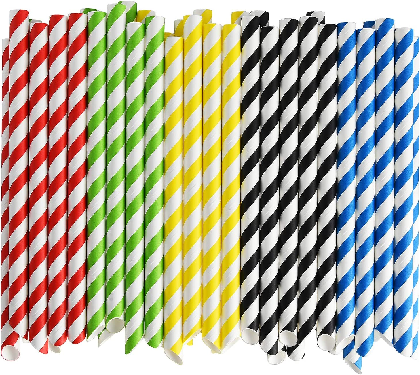 Max 60% OFF ALINK Paper Boba Straws 4-Layer Heavy Wide 12mm Extra Duty Str Sale