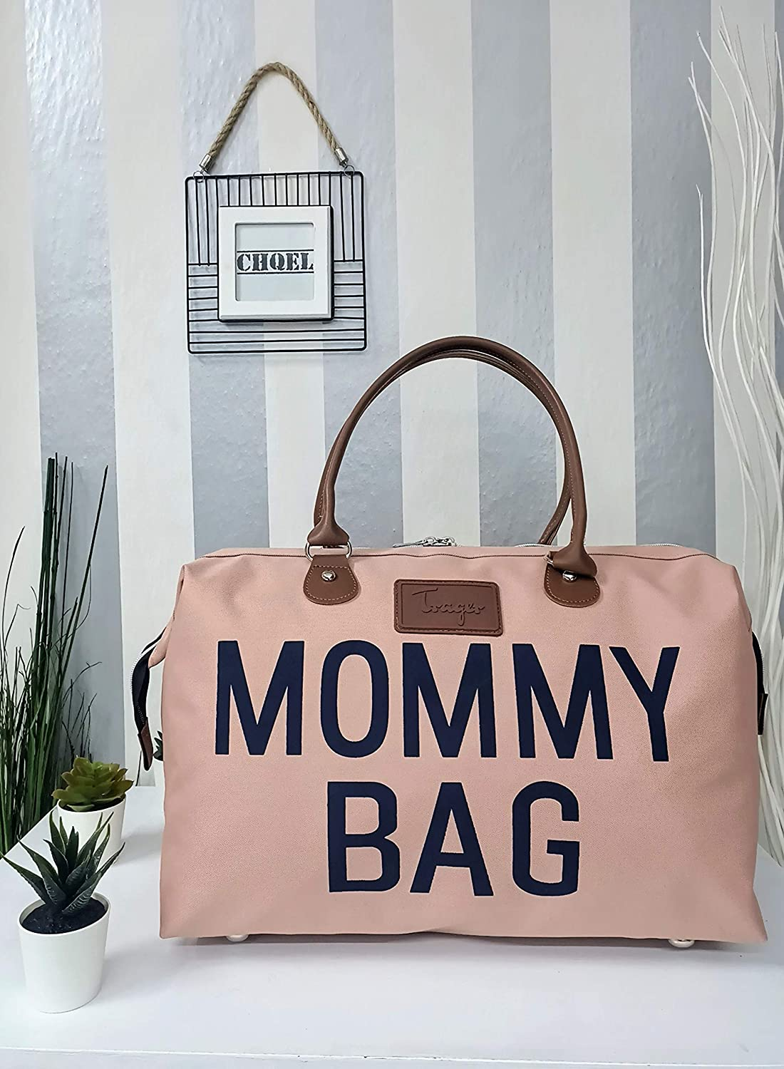 Mommy Bags for Hospital & Functional Large Baby Diaper Travel Bag for Baby  Care Black CHQEL Baby Diaper Bag Diaper Bags Baby looknewsindia.com
