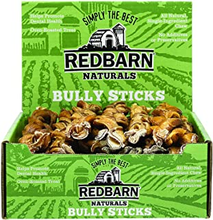 """Redbarn Pet Products 12"""" Braided Bully Sticks for Dogs - Natural Dog Dental Treats, Chemical Free, 12 inch Pizzle Stix"""