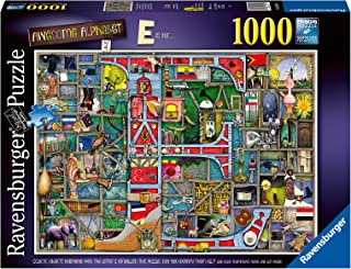 Ravensburger Colin Thompson - Awesome Alphabet E 1000 Piece Jigsaw Puzzle for Adults & for Kids Age 12 and Up