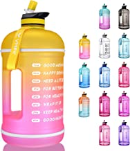 Vmini Water Bottle with Time Marker, Motivational Water Bottle & Gallon Water Bottle with Time Marker to Drink More Daily ...