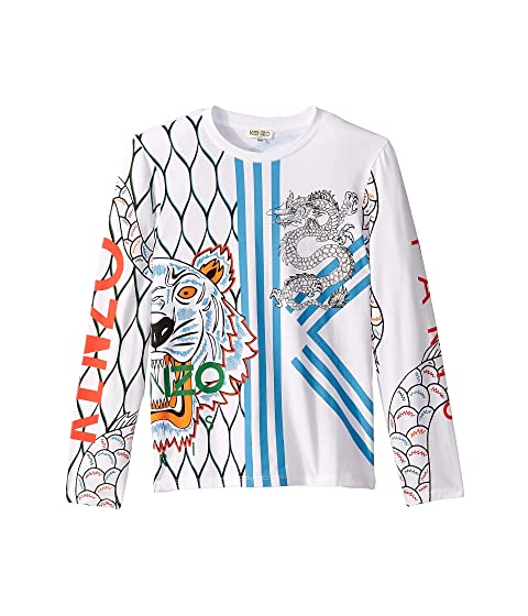 Kenzo Kids Multi Iconics T-Shirt (Big Kids)