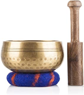 7 metal tibetan singing bowl