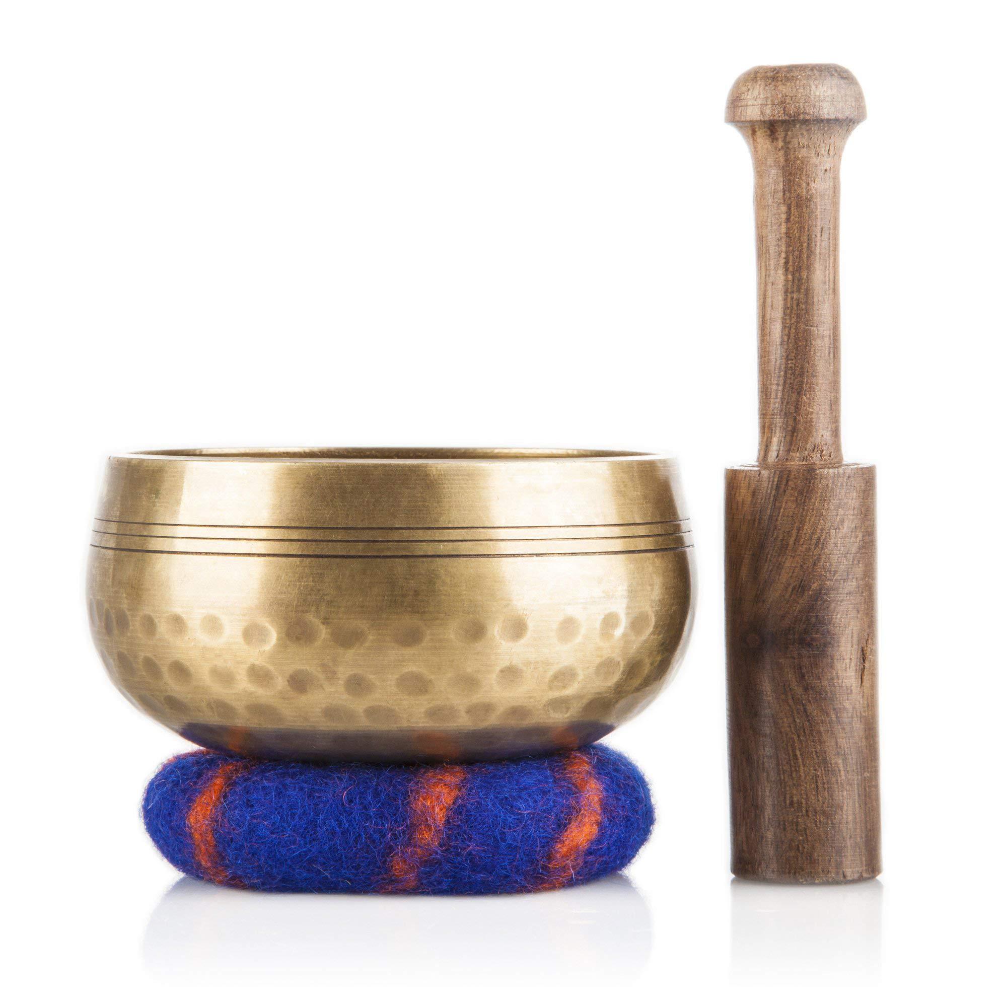 Tibetan Singing Bowl Set Handcrafted