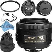 Nikon AF-S DX NIKKOR 35mm f/1.8G Lens Base Bundle