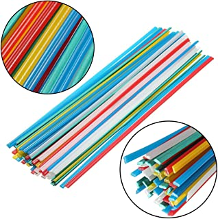 50pcs Plastic Welding Rods PP PE ABS PVC PA Nylon Welding Sticks 83Ft Length
