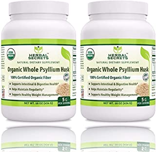 organic non gmo psyllium seed husks