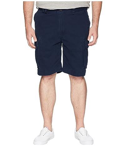 Polo Ralph Lauren Big & Tall Big Tall Vintage Chino Gellar Fatigue Shorts (Aviator Navy) Men