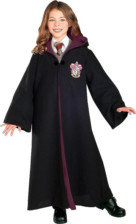 Harry Potter Hermione Granger Gryffindor Cosplay Costume Kid Adult cape Uniform