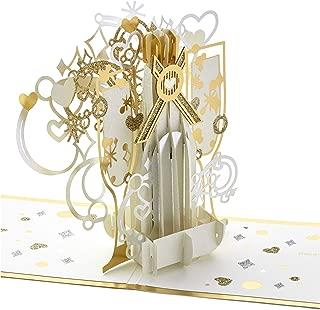 Hallmark Signature Paper Wonder Pop Up Anniversary Card (Pop The Champagne)