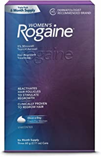 Brand NEW Women's Rogaine Hair Regrowth Treatment (6 Months Supply) Shipping Fast (Packaging varies)