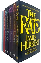 James Herbert Collection 7 Books Set (The Rats, Lair, Domain, Fluke, Haunted, '48, The Ghosts of Sleath)