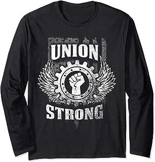 Long sleeves union shirt Union strong tshirt