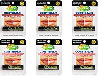 Dr. Dan's Cortibalm for Dry Cracked Lips - Healing Lip Balm for Severely Chapped Lips - Designed for Men, Women and Childr...