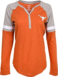 University of Texas Authentic Apparel NCAA Womens Henley Tee