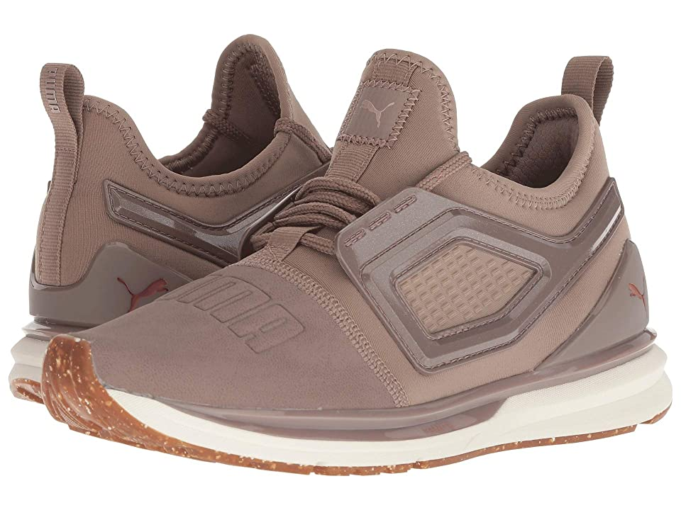 PUMA Ignite Limitless 2 Crafted (Taupe Gray/Rose Gold) Women