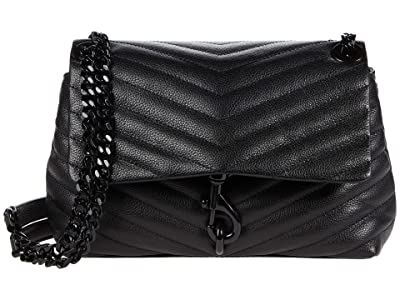Rebecca Minkoff Edie Crossbody (Black 4) Cross Body Handbags