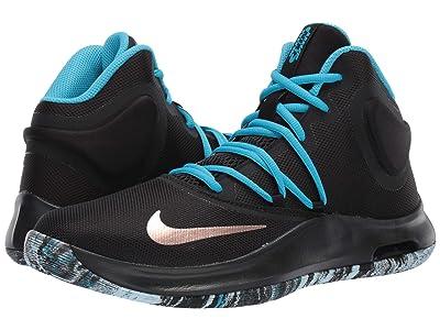 Nike Air Versitile IV (Black/Metallic Red Bronze/Light Current Blue) Men