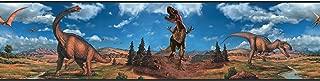 RoomMates Dinosaurs Peel and Stick Border