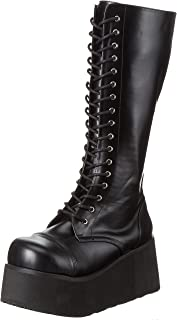 Pleaser Demonia Men's Trashville-502 Lace-Up Boot