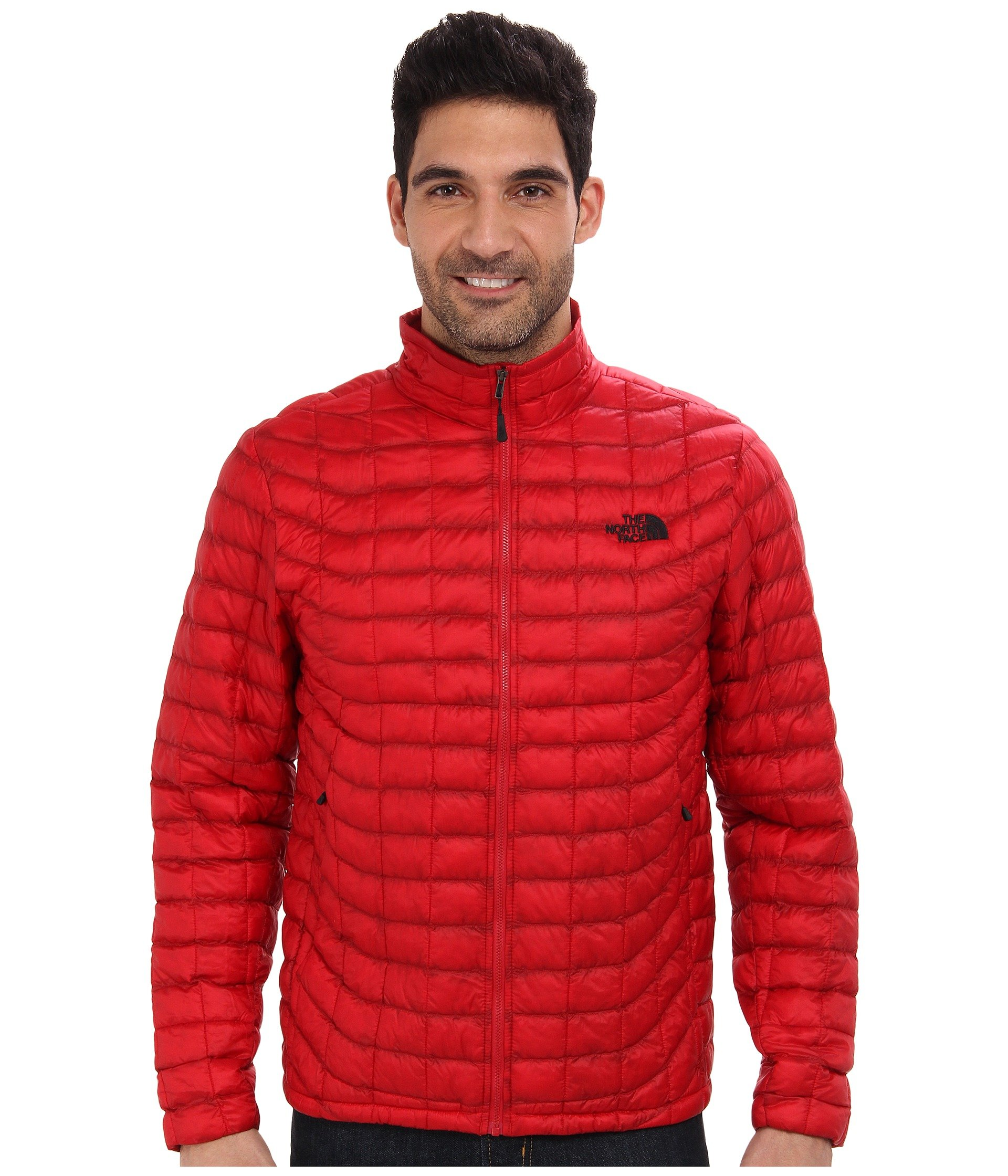 0a7cdff6b2ae The North Face Thermoball™ Full-Zip Jacket In Rage Red
