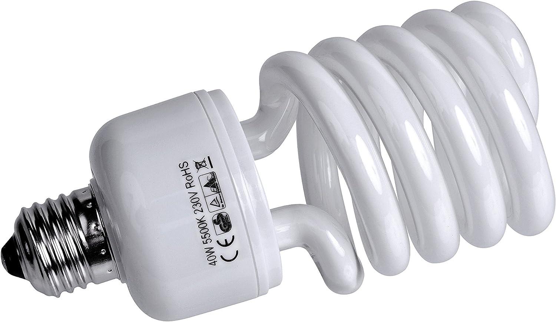 Bresser F000156 Spiral Tageslichtlampe E27 40 Watt