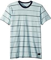 Billabong Kids Die Cut Stripe Short Sleeve Crew T-Shirt (Big Kids)