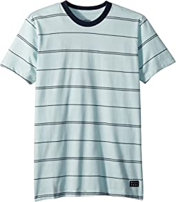 Billabong Kids Die Cut Stripe Short Sleeve Crew T-Shirt (Big Kids)