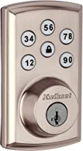 Kwikset 98880-004SmartCode 888 Smart Lock Touchpad Electronic Deadbolt Door Lock with Z-Wave Plus Featuring SmartKey Security in Satin Nickel