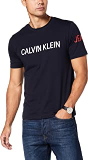 Calvin Klein Jeans Men's Institutional Logo Sleeve Regular Fit T-Shirt