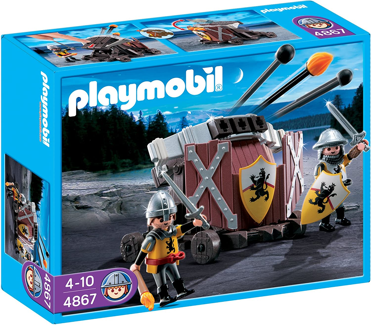 Playmobil 4867 Knights Lion Knights Firing Crossbow