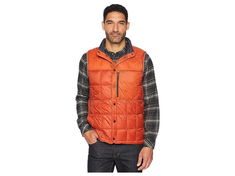 Mountain Hardwear PackDown Vest (Dark Copper) Men