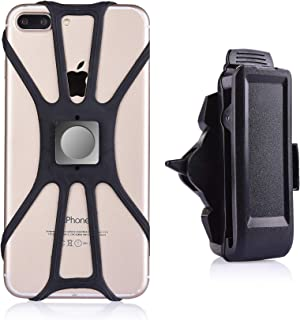 igooke Cell Phone Belt Clip, Universal Portable Holder with Magnetic Mount for Samsung Galaxy Note 20, S10 Plus, S20 Ultra...