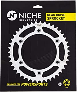 NICHE 520 Pitch 42 Tooth Rear Drive Sprocket For 2007-2018 KTM 250 450 300 350 525 690 500 530 Husqvarna Supermoto 701