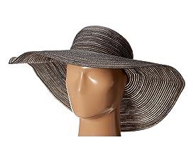 Big Brim Braid Hat with Lurex