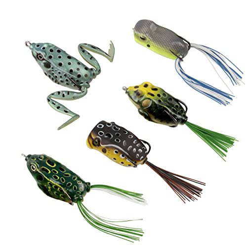Frog Lure for Bass: Amazon com