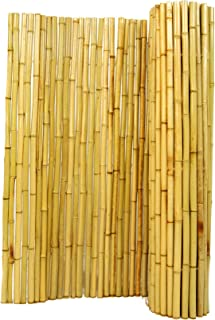 Natural Rolled Bamboo Fencing 1