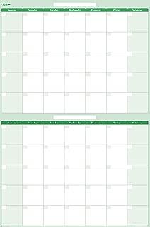 double door calendar
