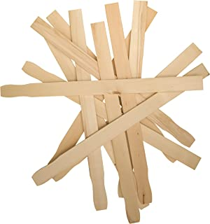 Woodpeckers 100 Piece Stir Sticks Paint Paddle for Mixing Paint/Epoxy/Resin, Multi-Use Library and Garden