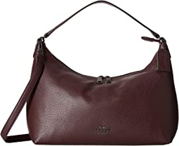 Pebbled Leather East/West Celeste Convertible Hobo