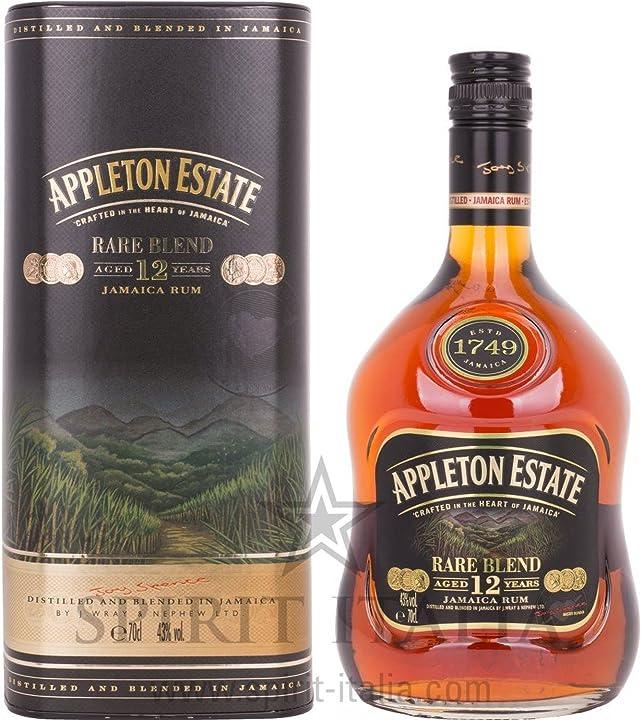 Rum appleton estate rare blend 12 years old gb 43 00% 0.7 l. rhum appleton B074CVVBK9